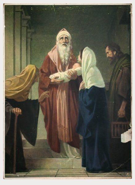 Gebhard Fugel (1863-1939), peintre allemand d'art sacré. 2007ss36