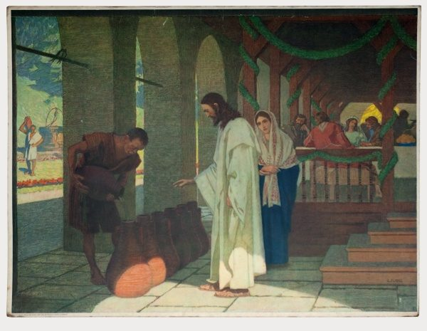 Gebhard Fugel (1863-1939), peintre allemand d'art sacré. 2007ss37