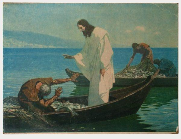 Gebhard Fugel (1863-1939), peintre allemand d'art sacré. 2007ss43