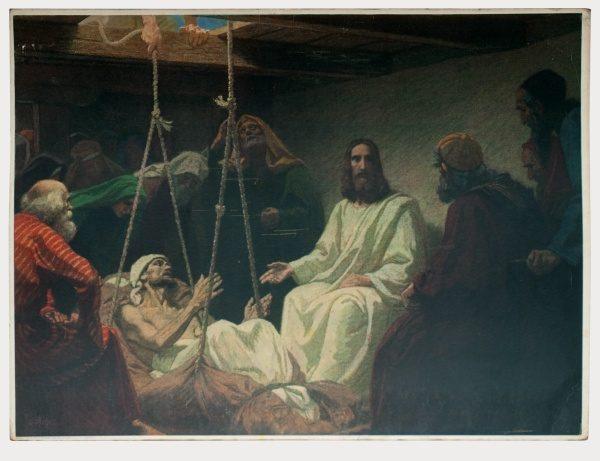 Gebhard Fugel (1863-1939), peintre allemand d'art sacré. 2007ss44