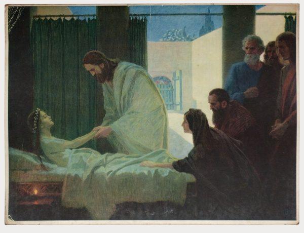 Gebhard Fugel (1863-1939), peintre allemand d'art sacré. 2007ss49
