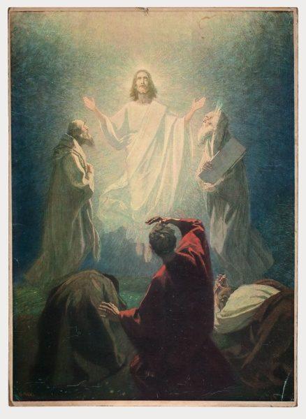 Gebhard Fugel (1863-1939), peintre allemand d'art sacré. 2007ss50