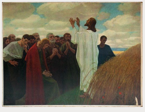 Gebhard Fugel (1863-1939), peintre allemand d'art sacré. 2007ss52