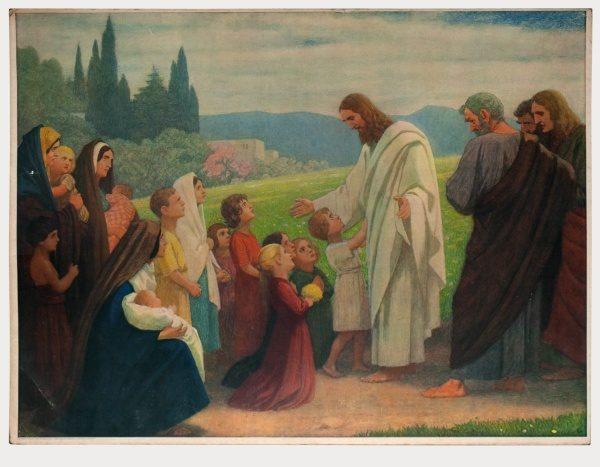 Gebhard Fugel (1863-1939), peintre allemand d'art sacré. 2007ss54