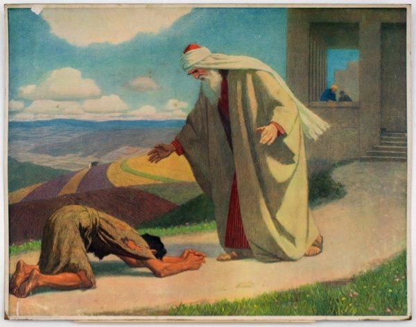 Gebhard Fugel (1863-1939), peintre allemand d'art sacré. 2007ss58