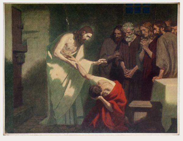 Gebhard Fugel (1863-1939), peintre allemand d'art sacré. 2007ss68