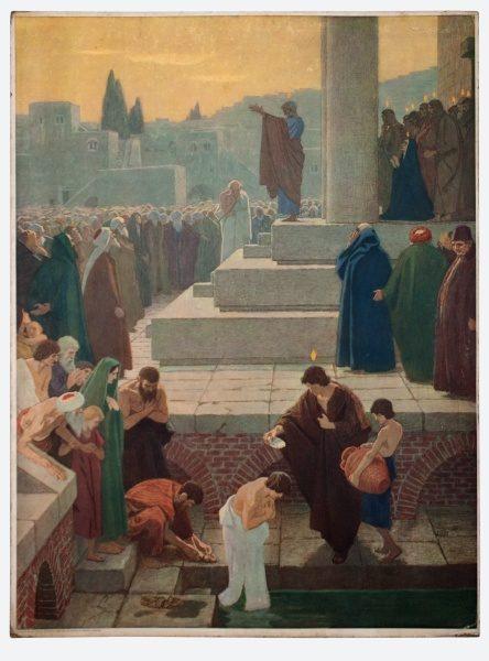 Gebhard Fugel (1863-1939), peintre allemand d'art sacré. 2007ss75