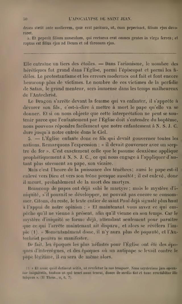 « ..il n'y aura plus de papauté, et l'Antechist pourra se manifester.. » 64-9fd10