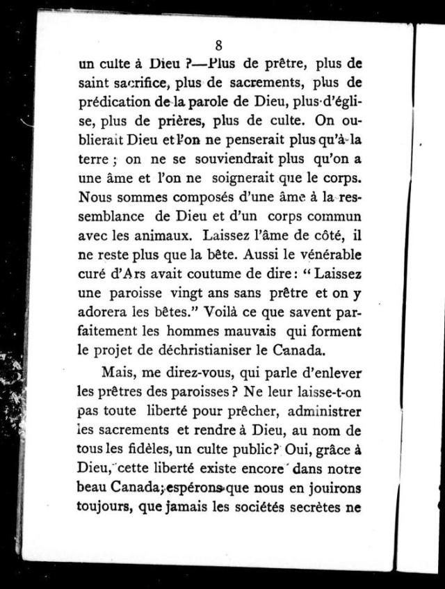 1898 - « COMMENT LA FRANC-MAÇONNERIE TRAVAILLE À DÉTRUIRE LA RELIGION CHRÉTIENNE EN CANADA. » 6_cihm10