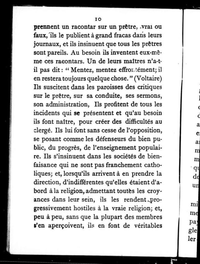 1898 - « COMMENT LA FRANC-MAÇONNERIE TRAVAILLE À DÉTRUIRE LA RELIGION CHRÉTIENNE EN CANADA. » 8_cihm10