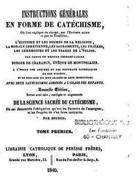 « Catalogue des principales sectes hérétiques ou schismatiques.. » Bub_gb36