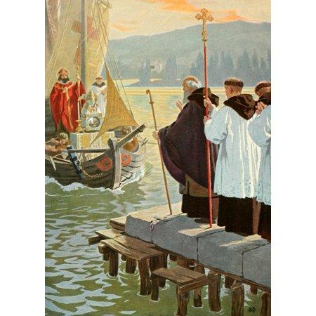 Gebhard Fugel (1863-1939), peintre allemand d'art sacré. F6d18a10