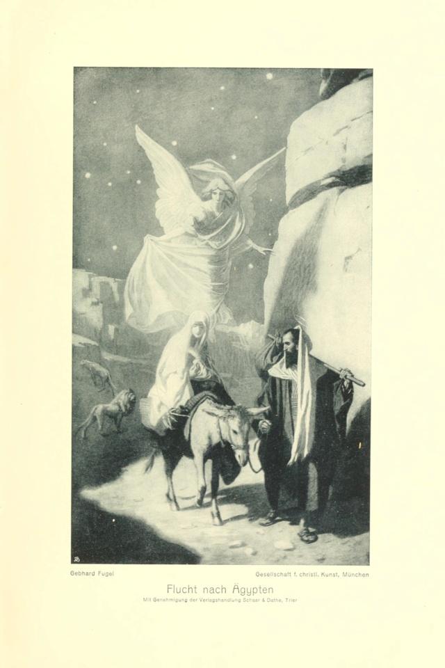 Gebhard Fugel (1863-1939), peintre allemand d'art sacré. Fugel_10