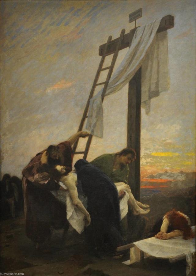 Gebhard Fugel (1863-1939), peintre allemand d'art sacré. Gebhar12