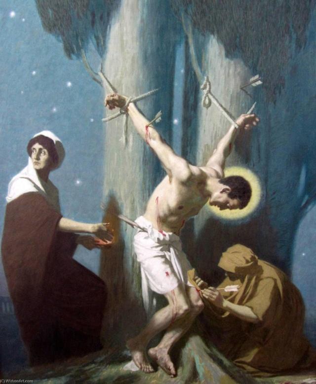Gebhard Fugel (1863-1939), peintre allemand d'art sacré. Gebhar15