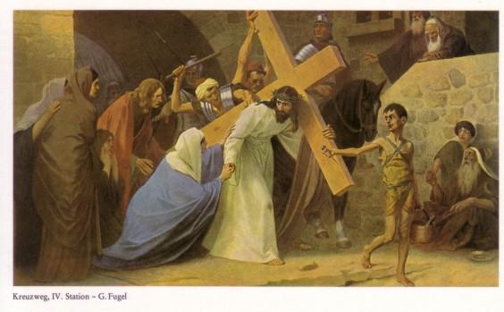 Gebhard Fugel (1863-1939), peintre allemand d'art sacré. Iv10