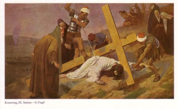 Gebhard Fugel (1863-1939), peintre allemand d'art sacré. Ix10