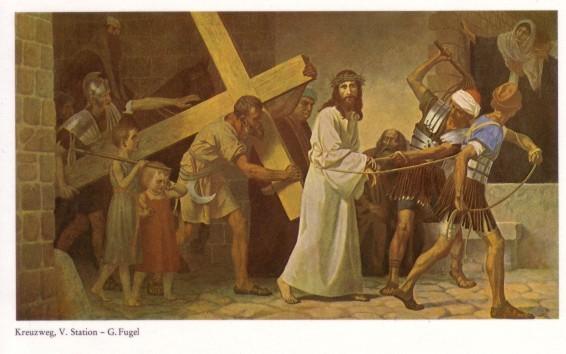 Gebhard Fugel (1863-1939), peintre allemand d'art sacré. V10