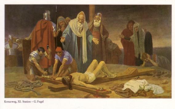 Gebhard Fugel (1863-1939), peintre allemand d'art sacré. Xi10