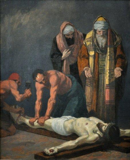 Gebhard Fugel (1863-1939), peintre allemand d'art sacré. Xi_the10