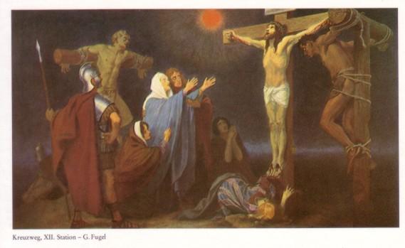 Gebhard Fugel (1863-1939), peintre allemand d'art sacré. Xii10