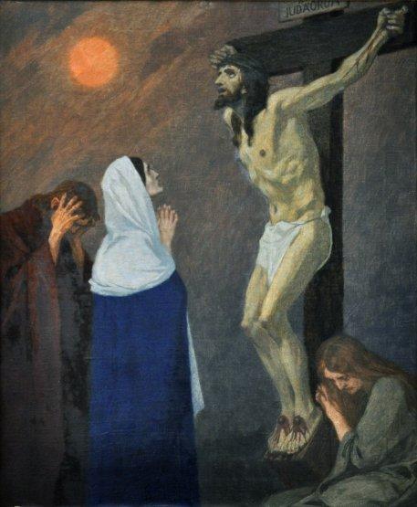 Gebhard Fugel (1863-1939), peintre allemand d'art sacré. Xii_ik10