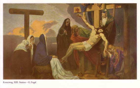 Gebhard Fugel (1863-1939), peintre allemand d'art sacré. Xiii10