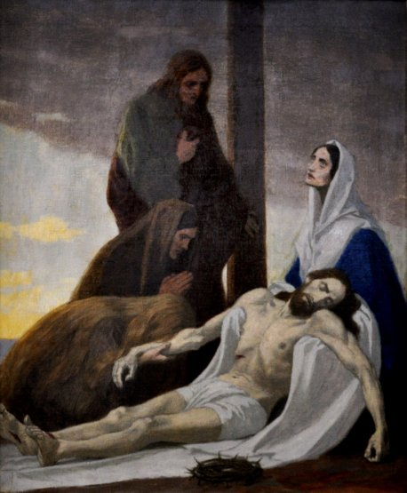 Gebhard Fugel (1863-1939), peintre allemand d'art sacré. Xiii_t10