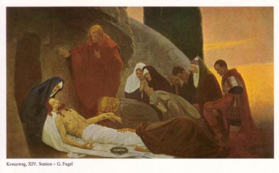 Gebhard Fugel (1863-1939), peintre allemand d'art sacré. Xiv10