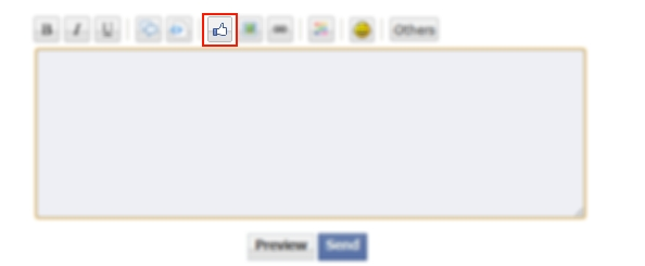 [New Feature] Add a Facebook Button to your posts! Likebu10