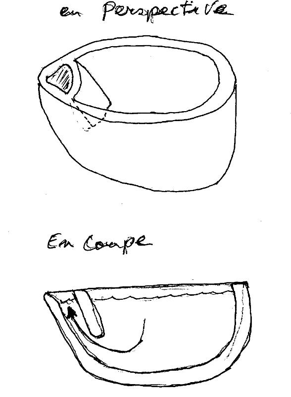 Expérimentation : Fonte du bronze à partir de zéro - Page 3 Creuse10
