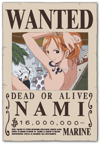 One piece!!!! Wanted10