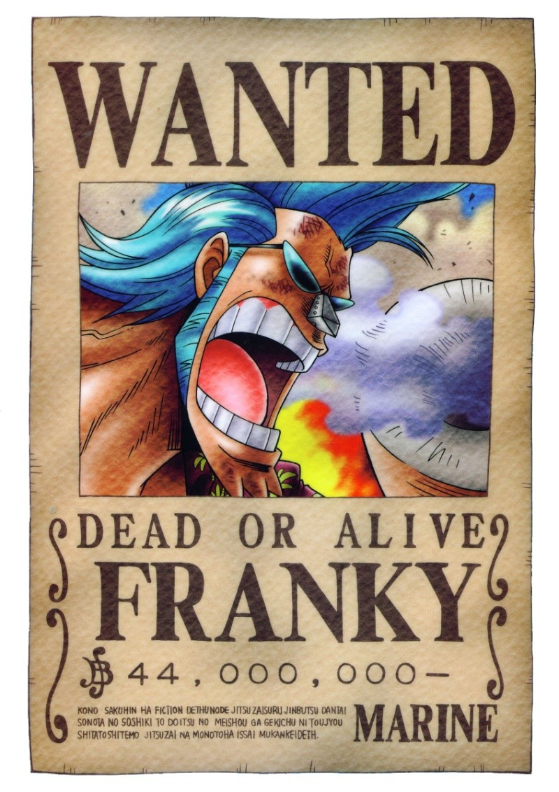 One piece!!!! Wanted12