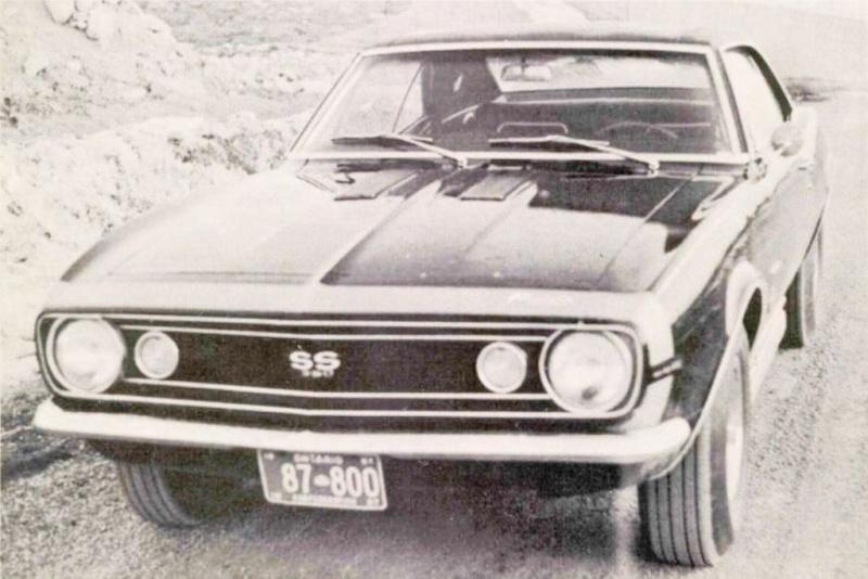 Panther - La Camaro Black Panther 1967 - Un Muscle car de rue des plus rare 67blac11