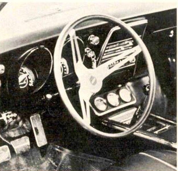 Panther - La Camaro Black Panther 1967 - Un Muscle car de rue des plus rare 67camb11