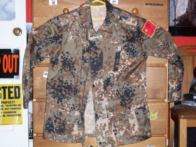 "Type 03 Plateau ""Tibet Flecktarn"" Camo Uniform Chines14"