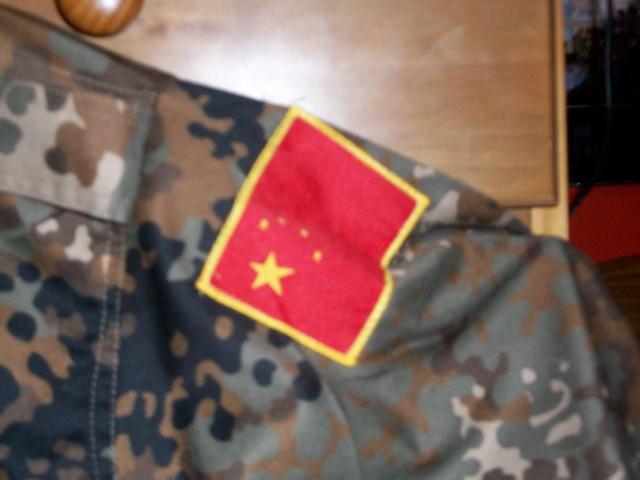 "Type 03 Plateau ""Tibet Flecktarn"" Camo Uniform Chines16"