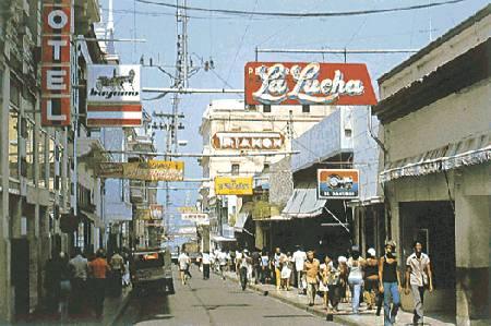 Calles de Santiago de Cuba Cuba0010