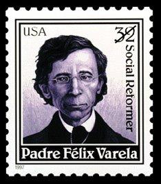 SELLO CONMEMORATIVO DEL PADRE FELIX VARELA Felix_11