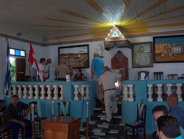 LAS LOGIAS EN CUBA Girond13