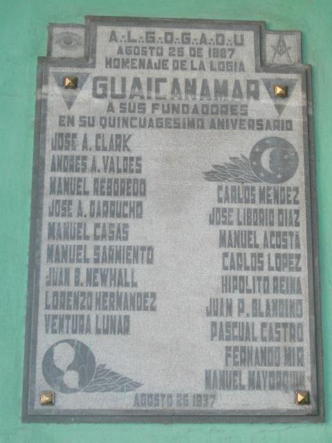 LAS LOGIAS EN CUBA Guaica10