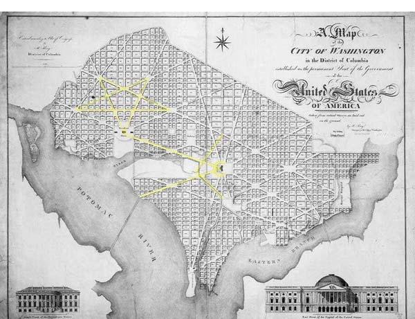 WASHINGTON DC Y SU SIMBOLOGIA MASONICA Map1c10