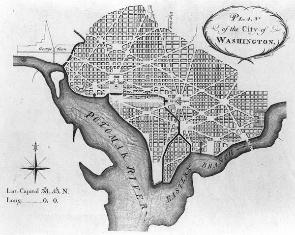 WASHINGTON DC Y SU SIMBOLOGIA MASONICA Map210