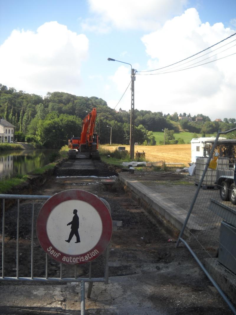 RAVeL 3 (Part 1) Erquelinnes - Marchienne-au-Pont - Eurovelo 3 - EV3 - Itinéraire n°6 Halage11