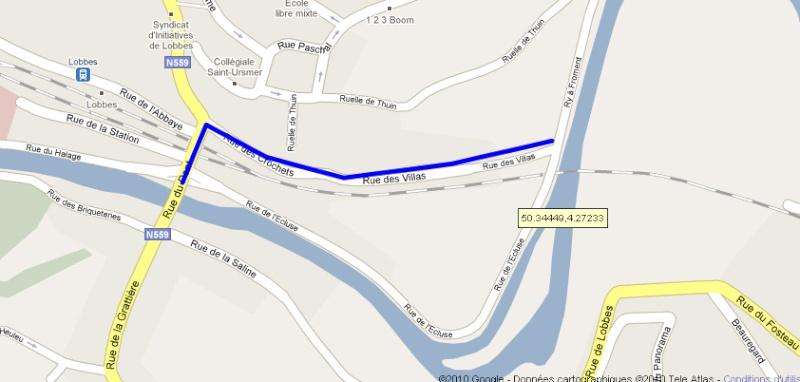 RAVeL 3 (Part 1) Erquelinnes - Marchienne-au-Pont - Eurovelo 3 - EV3 - Itinéraire n°6 Snag-x10