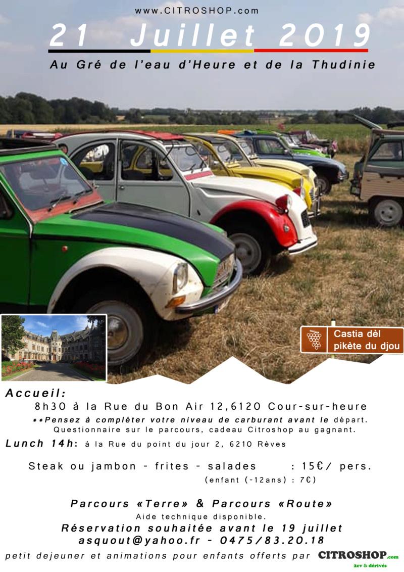 Rallye Citroshop 21/07/19 Affich11