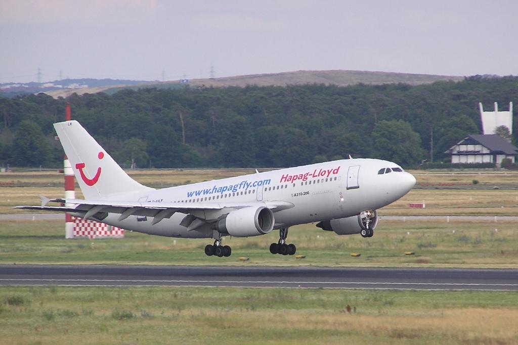 A310 in FRA D-ahlw10