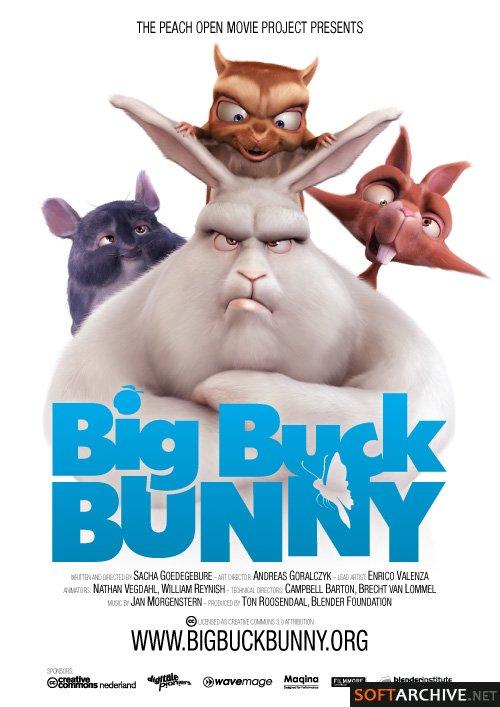 Big Buck Bunny (2008)  720p Blueray AC3x264 45287310