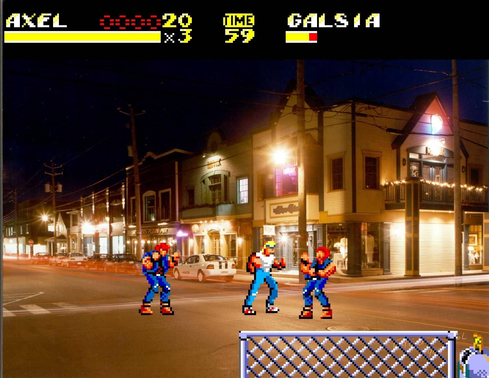 Sega in real life! Sor10