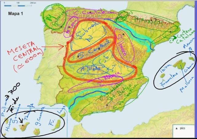 EL RELIEVE ESPAÑOL Reliev11